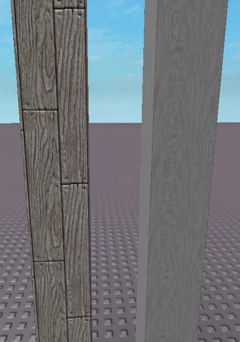 Wood Plank Beam