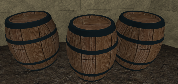 Barrels Fixed